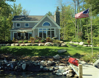 This post and beam vacation home is located on NH's own Lake Sunapee, a great spot to vacation
