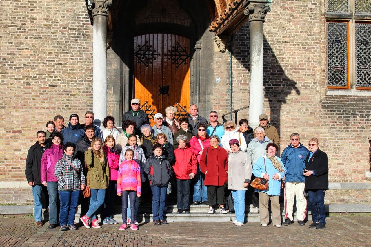 holland kirándulás csoportkép - Hága, 2014