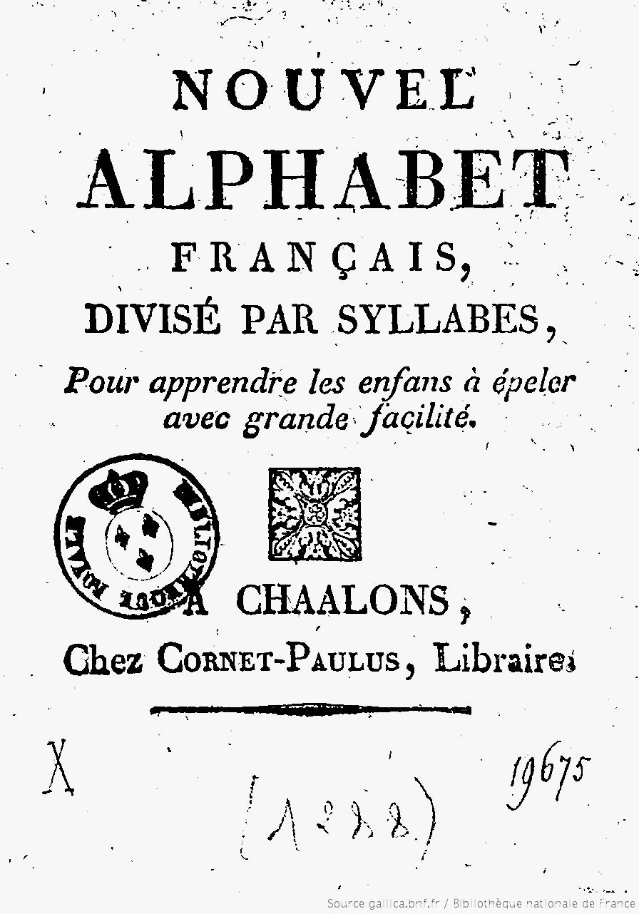 La divisione in sillabe in francese for Accenti francesi
