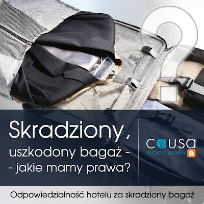 Odpowiedzialność hotelu za skradziony bagaż