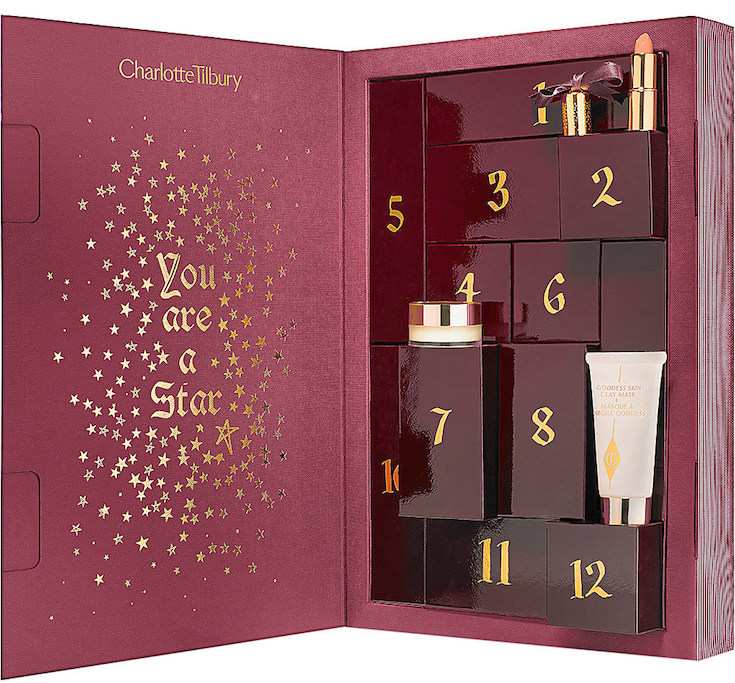 A list of six beauty advent calendars that ship worldwide in 2015.