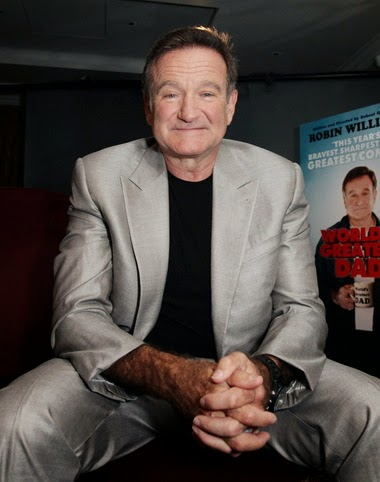 ROBIN WILLIAMS (1951-2014) COMEDIAN AND ACTOR