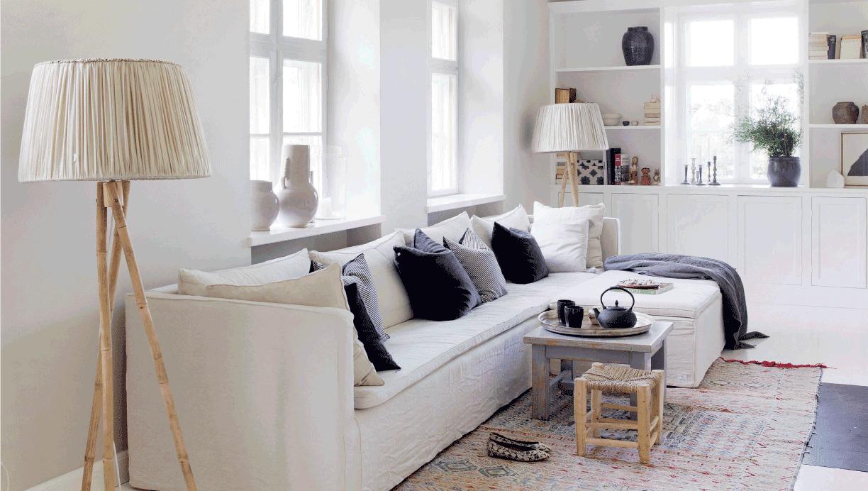 Decoraci n f cil sereno y natural hogar de estilo escandinavo - Estilo escandinavo decoracion ...