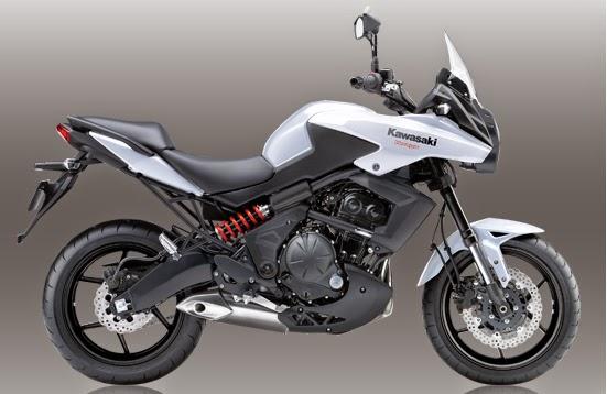 Kawasaki Versys 650 White