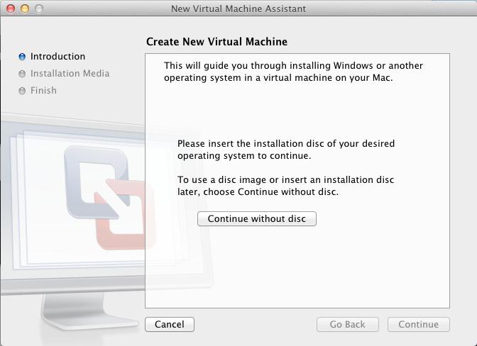 how to run mac os x on a virtual machine