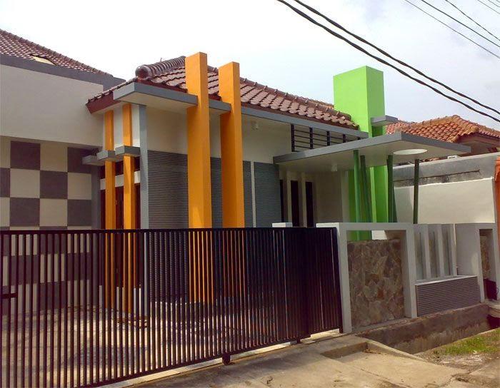 pagar rumah sederhana minimalis terbaru