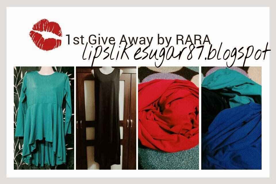 1ST GIVEAWAY BY RARA