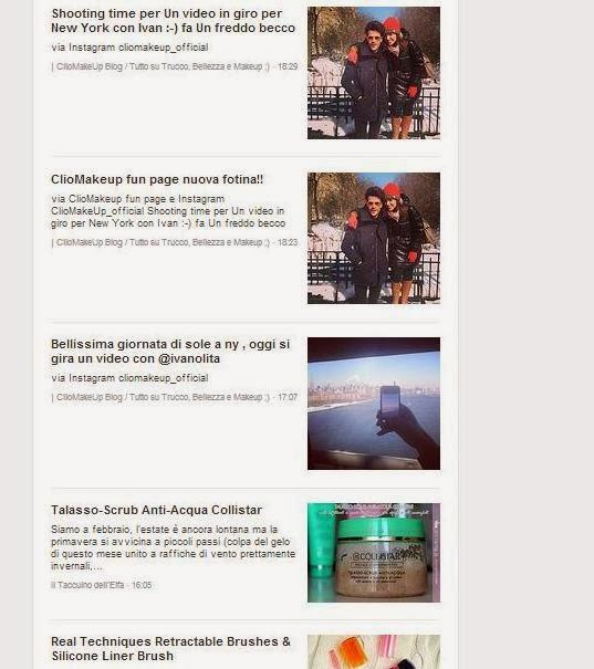ClioMakeUp su Bloglovin