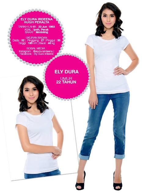 Profil Peserta Dewi Remaja 2014/2015 Ely Dura