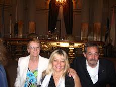 Legislatura de la CABA. Salón Dorado. Con Mónica Bianchi y Manuel Trigo