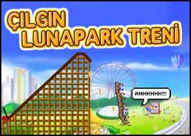 Çılgın Lunapark Treni Oyunu