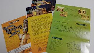 galeri sultan azlan shah, kuala kangsar, brochure