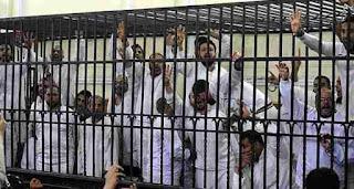 الحبس من ثلاثة الى عشر سنوات لعدد 301 من اعضاء الجماعة الارهابية بمحافظة الشرقية