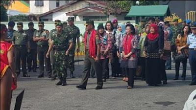 Panglima TNI Tinjau Tiga Satuan di Ambon