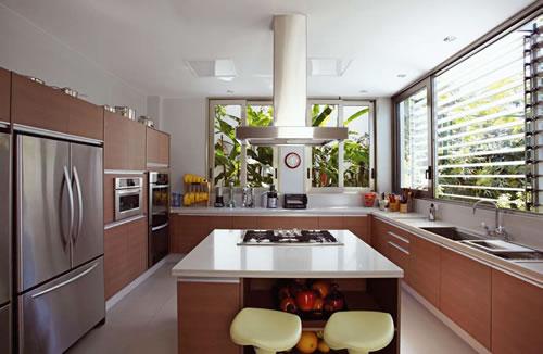 Design de ambientes # Ilha Cozinha Em Alvenaria