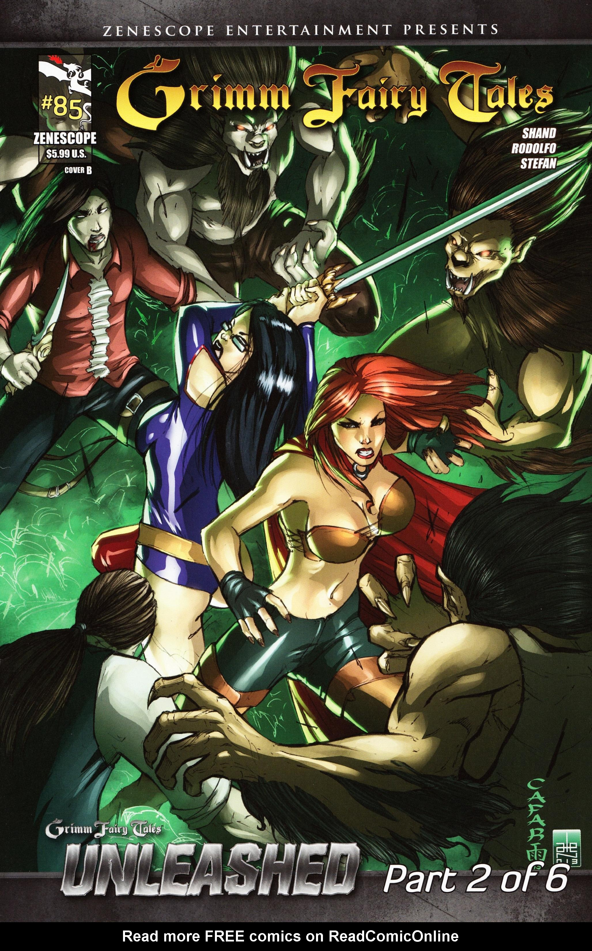 Grimm Fairy Tales (2005) Issue #85 #88 - English 2