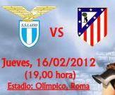 Partido Lazio Vs Atlético de Madrid – Liga de Europa