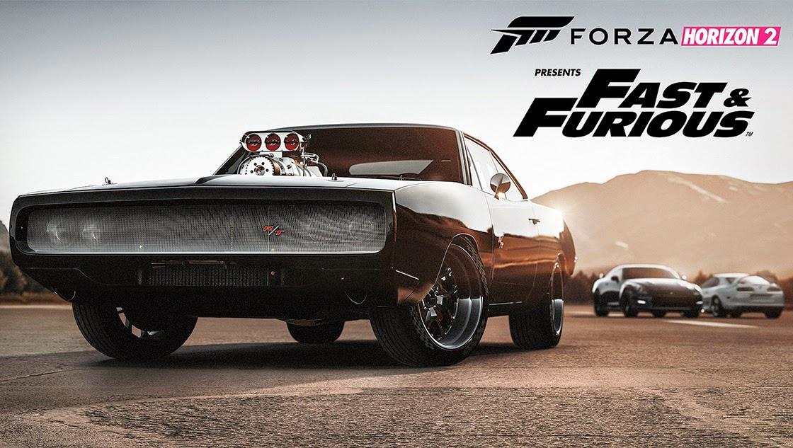 image du jeu fast and furious forza horizon 2 représentant la première charger du jeu