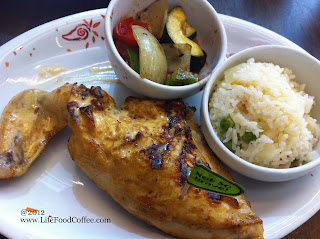 Grilled chicken from Nandos Jcube, Jurong East