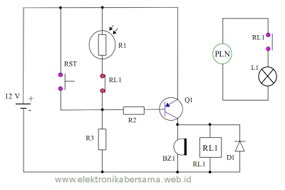 12vdc Holding Relay on plug 20 amp circuit