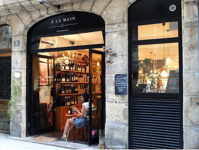 A La Main, Epicerie de produits Artisanaux Corses et Espagnols boutique équitable bar à vins, Rue Saint-Sauveur à Paris bar et restos branchés cool ThatsMee.fr