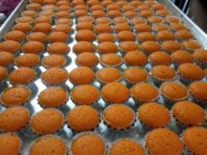 Mini Orange Cupcake.. juga terdapat pelbagai perisa lain