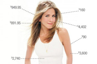 Jennifer Aniston's $141,037 Beauty Routine
