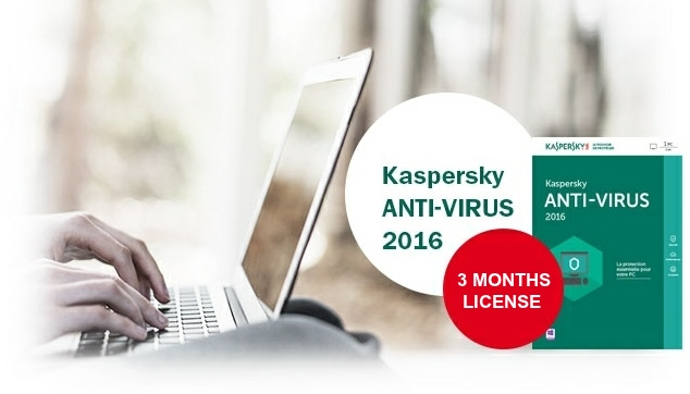 Kaspersky Anti-Virus 2016 [3 MONTHS LEGIT LICENSE]