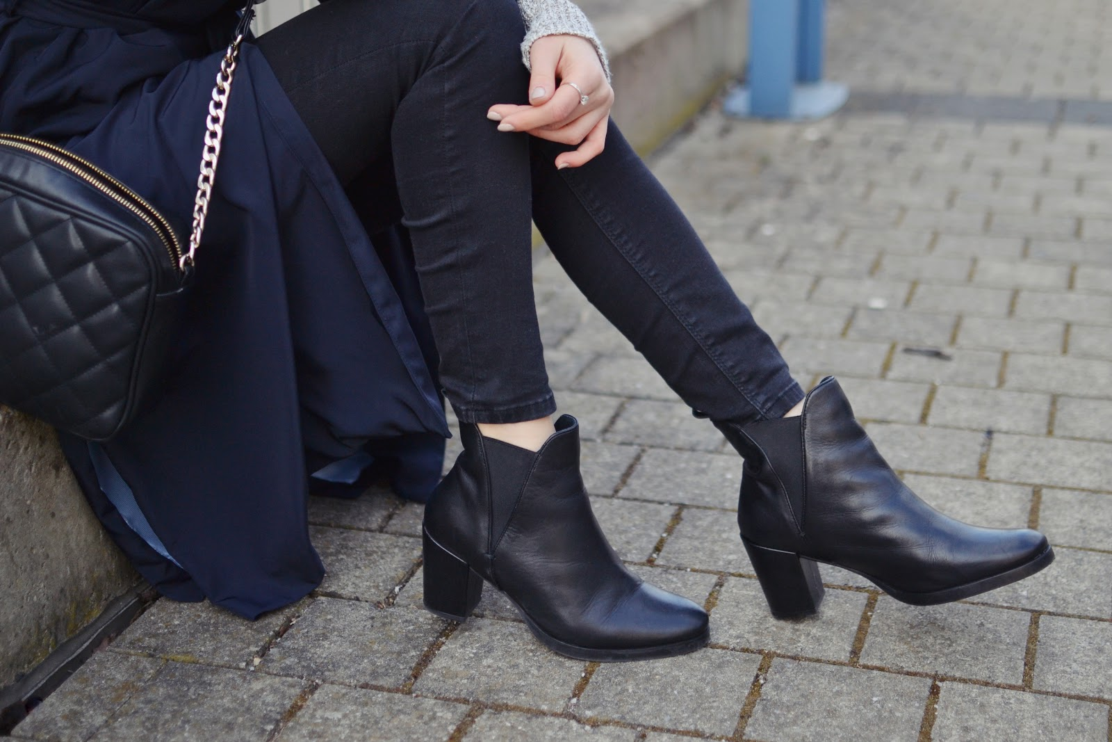 ASOS leather ankle boots
