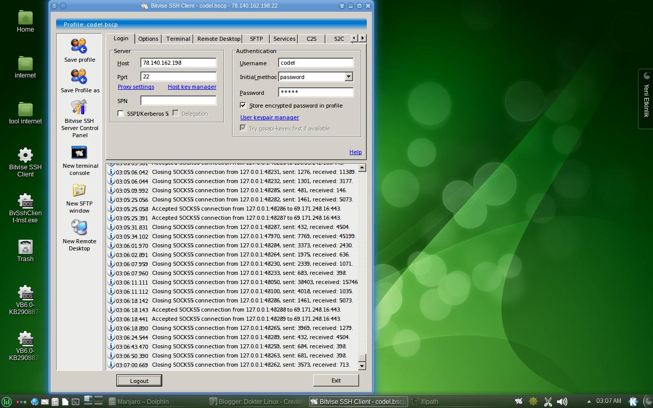 Download Bitvise SSH Client 4.60: Software Under Windows Yang Jalan di