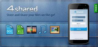 aplikasi 4Shared untuk android