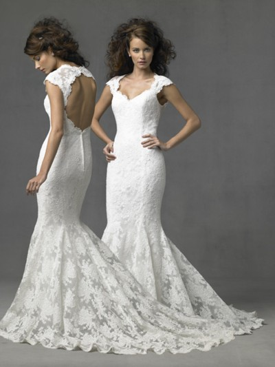 mermaid wedding dresses 2011 More Bridal Dresses with Sleeves