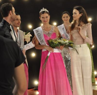 Miss Universe Albania 2011 Winner Xhesika Berberi