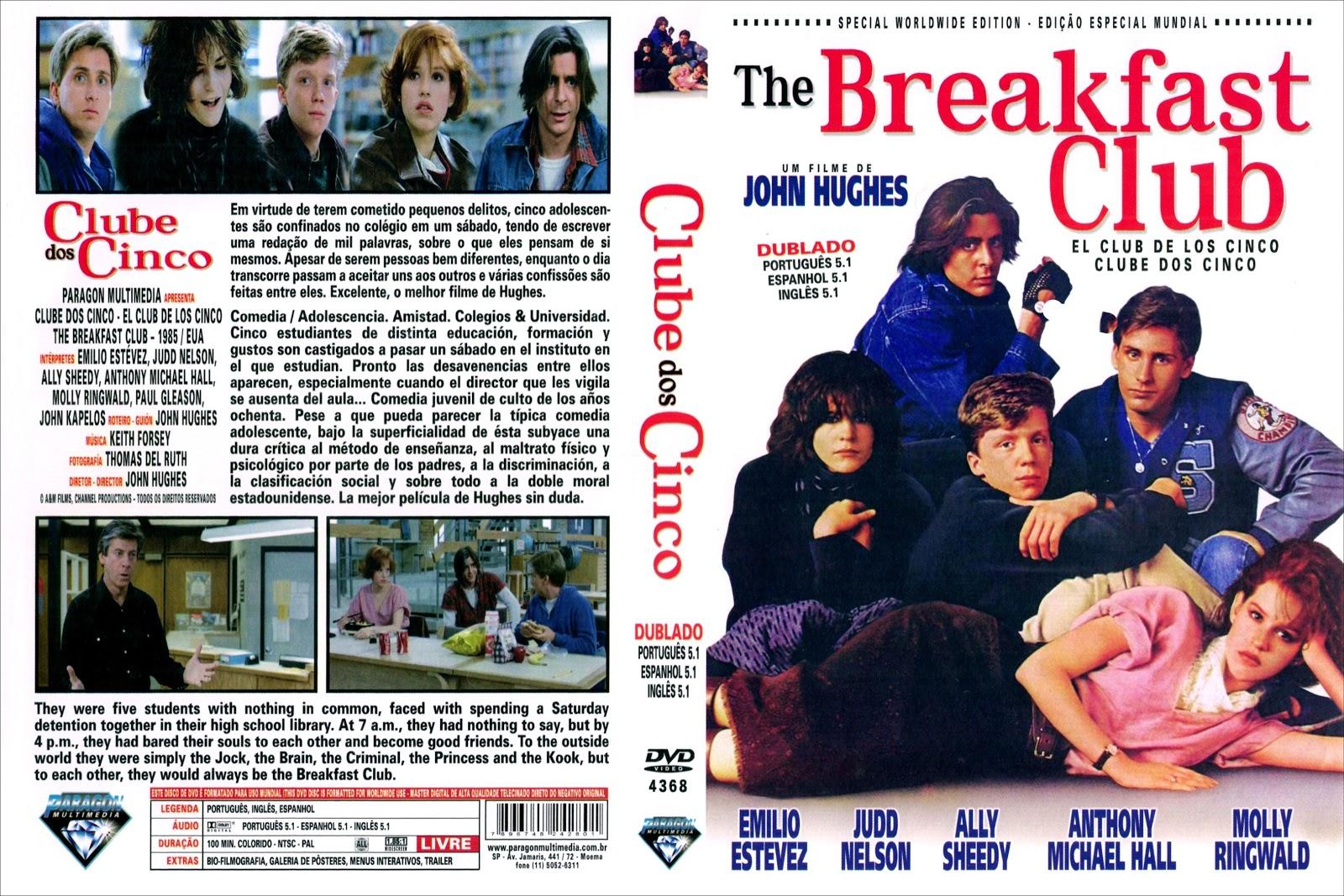 Capa DVD Clube Dos Cinco