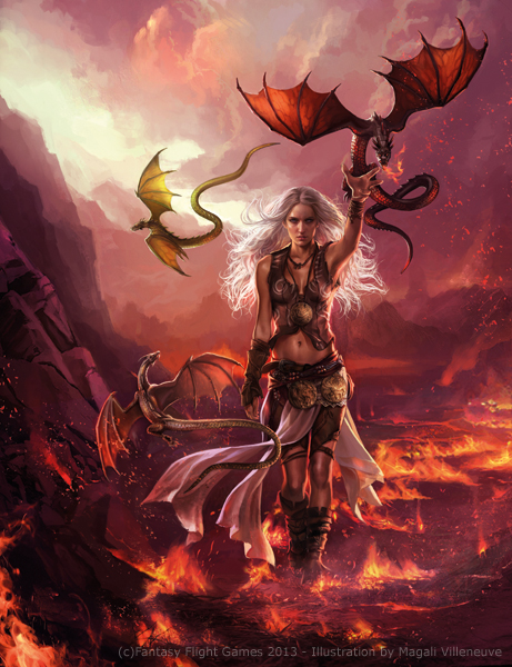 Magali Villeneuve Portfolio: A Game of Thrones : Daenerys ... Daario Naharis And Daenerys Season 4