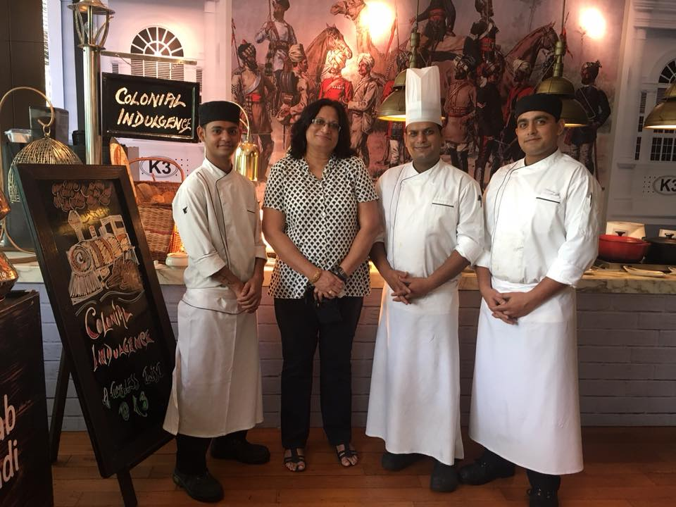 Colonial Anglo-Indian Cuisine event at K3 J W Marriot Aerocity, New Delhi