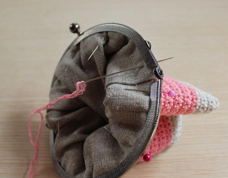 Contemporáneo Patrón Monedero Redondo Crochet Friso - Manta de Tejer ...