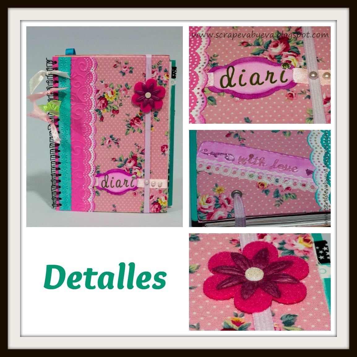 Scrapeva by eva diario romantico for Paginas decoradas
