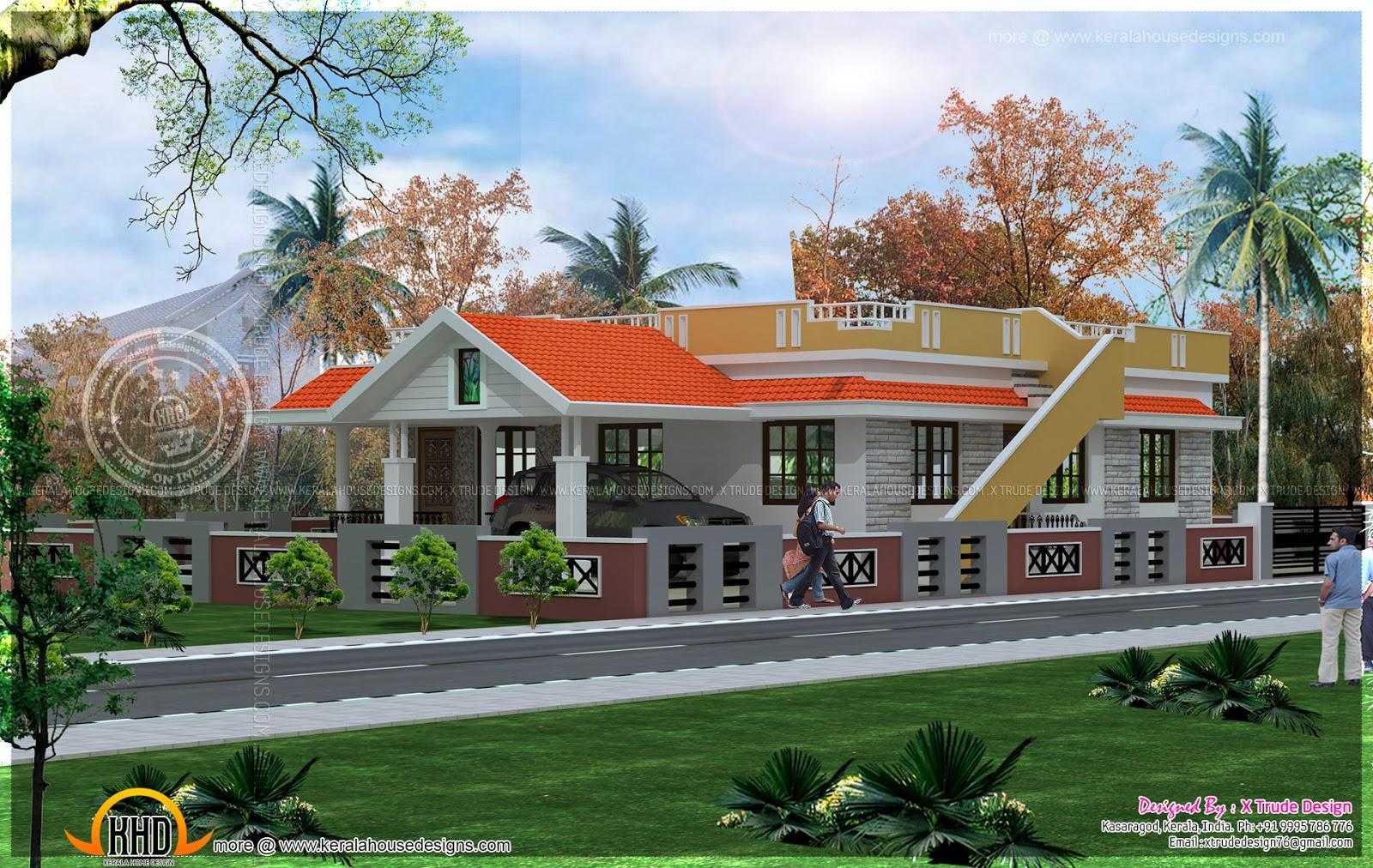 House design valuation - Single Floor House Single Floor House