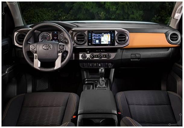 2016 Toyota Tacoma Inferno Color