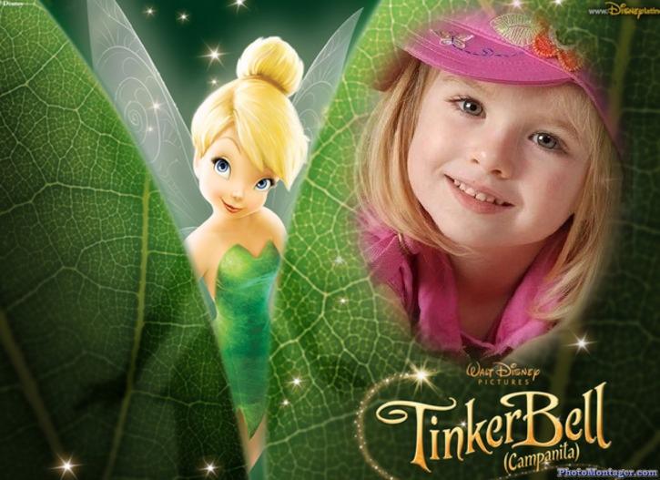Fotomontajes Infantiles de TinkerBell de Disney | Fotomontajes ...