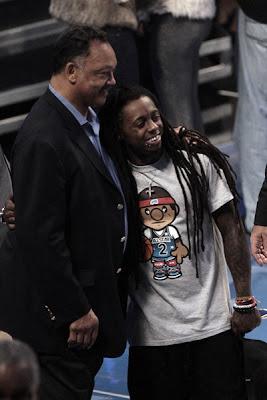 Lil Wayne e Jesse Jackson