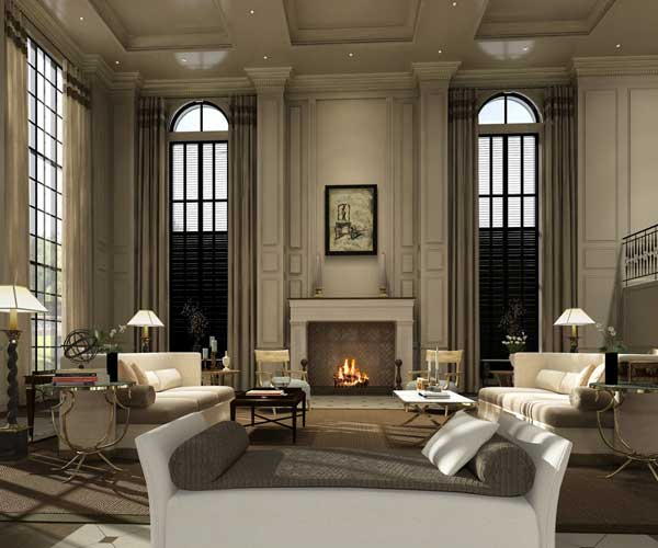 Design concept mind42 - Timeless contemporary luxury homes glamorous interior elements ...