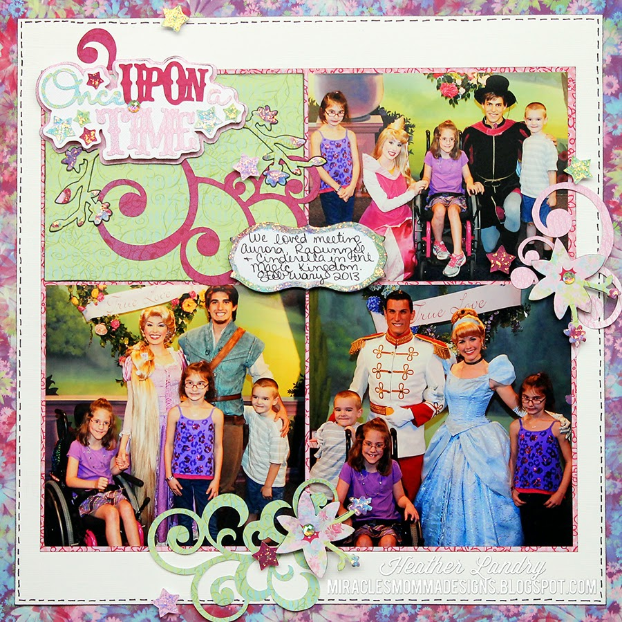 Princess Meeting_Scrapbook_Disney
