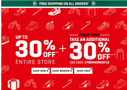 PUMA Cyber Monday Up TO 30% Off + Extra 30% Off Promo Code + Free Shipping