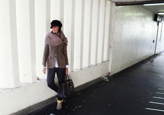 winter fashion trend london