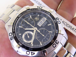 TAG HEUER AQUARACER 300m CHRONOGRAPH DAY AND DATE - BLACK DIAL - AUTOMATIC