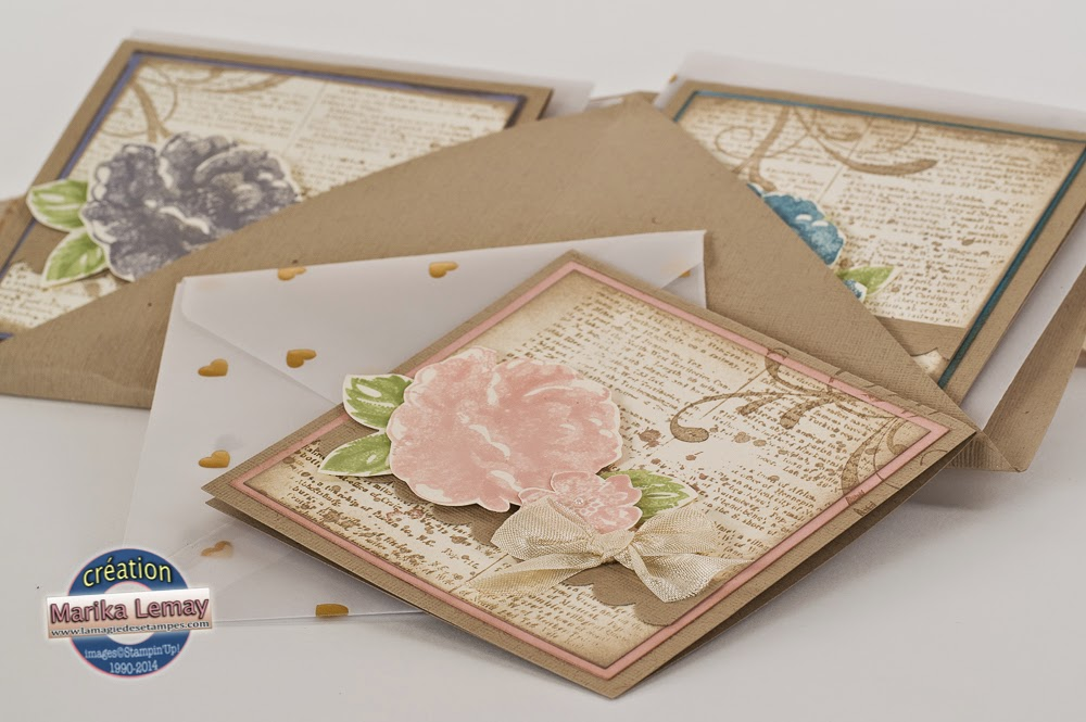Stippled blossoms Stampin' Up!