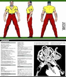 Jigsaw (Rompecabezas) Ficha Marvel Comics
