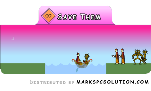 Save Them Flash Game